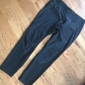 Gapfit gfast 2 tone black leggings shiny